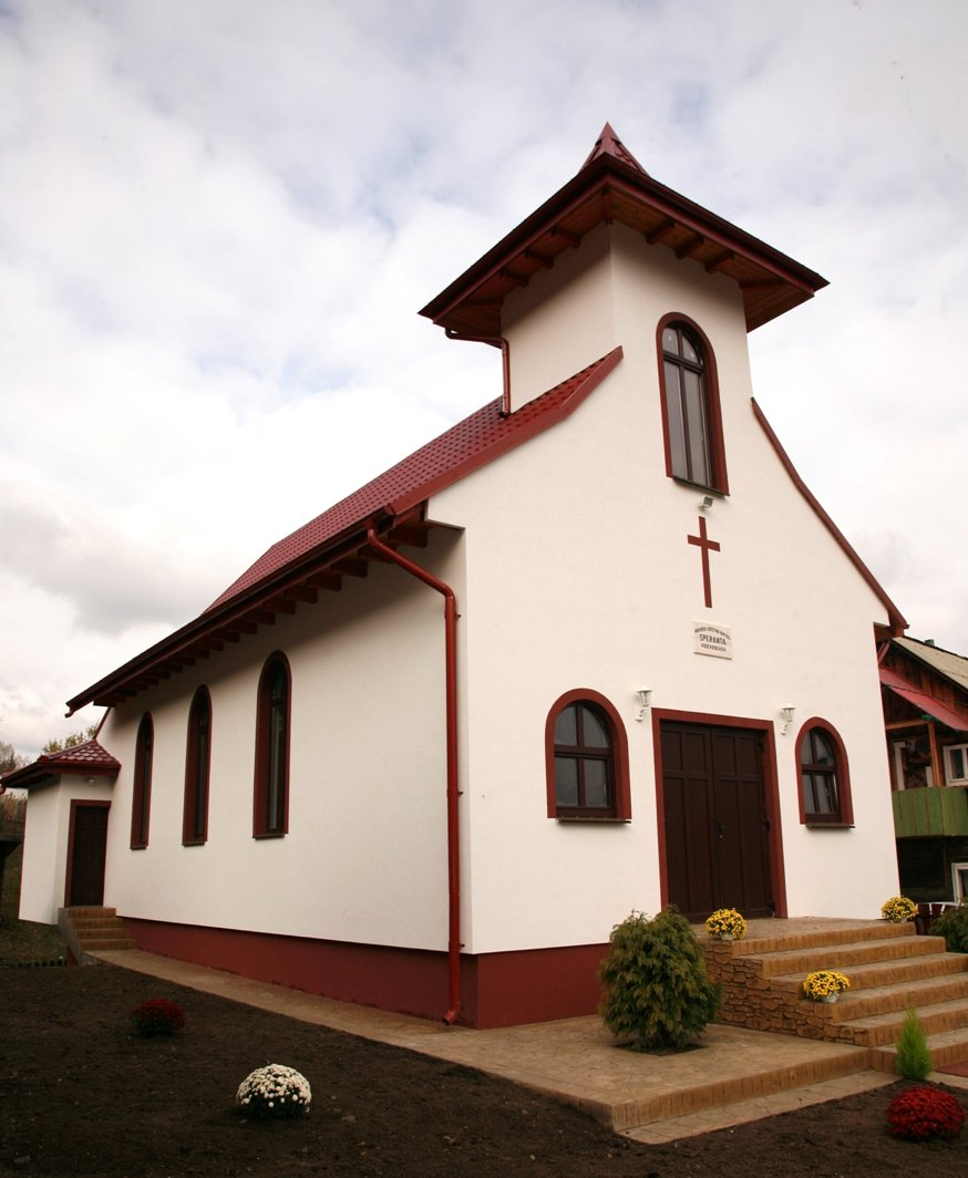 The new church building